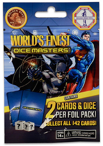 DC World's Finest Dice Masters Booster