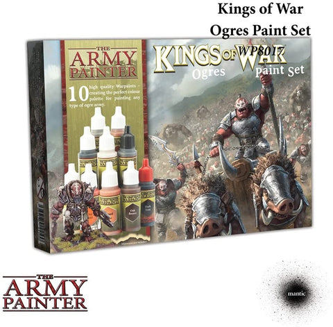 Kings Of War Ogres Paint Set