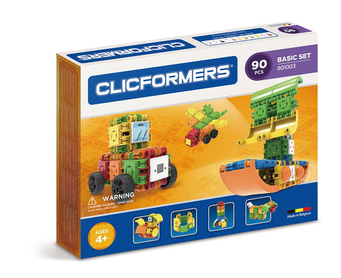 Clicformers Basic Set - 90 pcs Board Game Geek South Africa