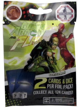 DC Dice Masters: Green Arrow and the Flash Booster
