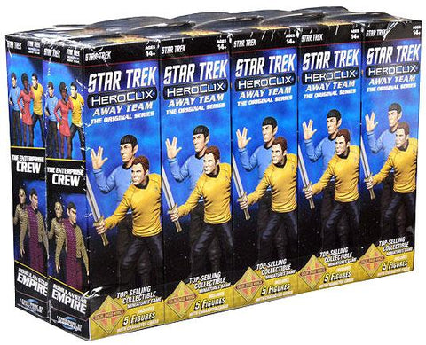 HEROCLIX Star Trek Away Team Original Series Booster Brick Miniature Game Geek South Africa
