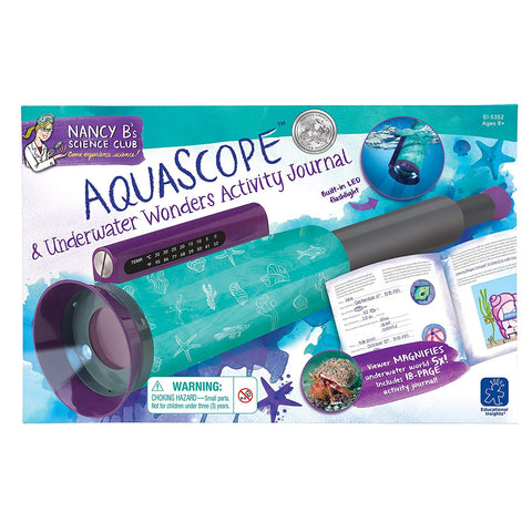 Nancy B's  AquaScope™ and Underwater Wonders STEM Geek South Africa