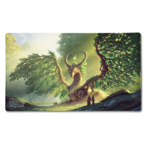 Dragon Shield Playmat - Lime 'Laima'