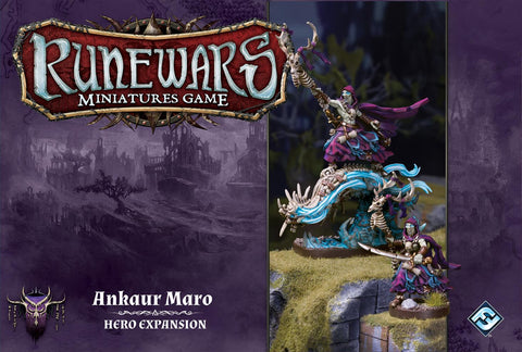 Runewars Miniatures Game: Ankaur Maro Hero Expansion