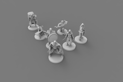 Dolomar's Dungeon Denizens Bandit Gang  Dungeons and Dragons, Miniatures, Role-playing Games