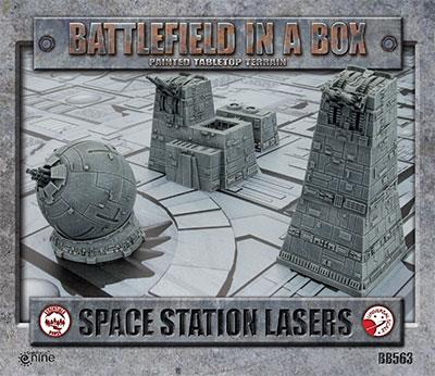 Battlefield in a Box Space Station Lasers