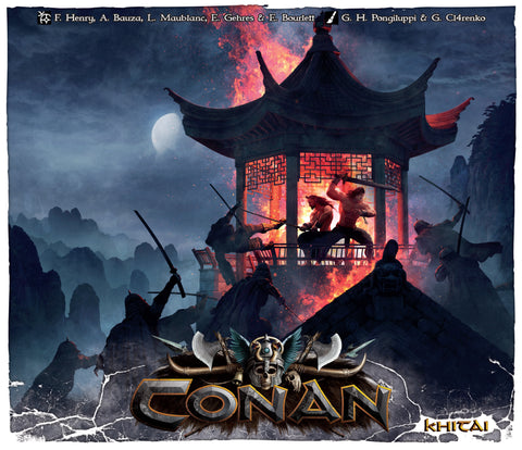 Conan - Khitai Expansion Board Games Geek South Africa