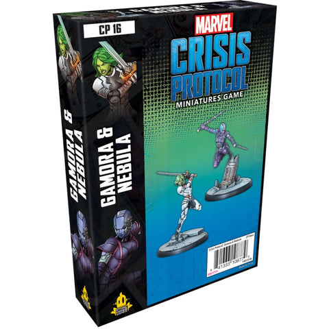 Marvel Crisis Protocol: Gamora and Nebula