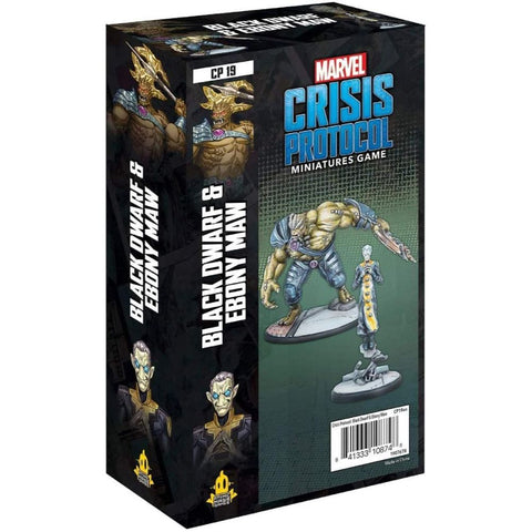 Marvel Crisis Protocol - Black Dwarf and Ebony Maw