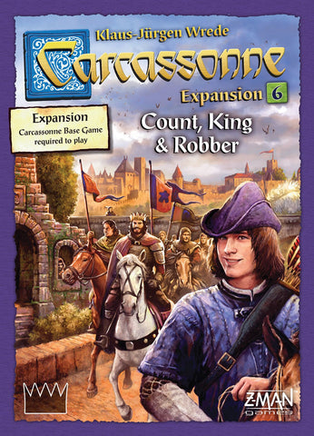 Carcassonne Expansion 6 - Count/King/Robber