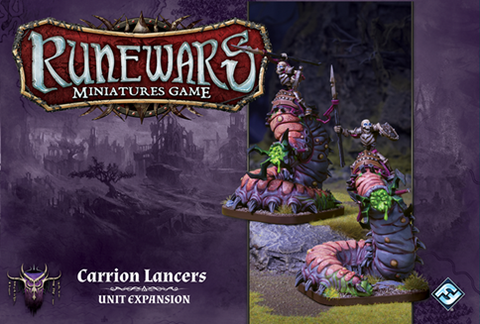 Runewars Miniatures Game: Carrion Lancers Unit Expansion