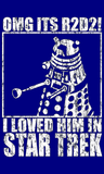 Dr Who T-shirts