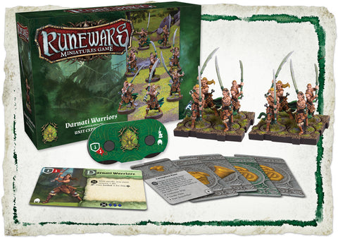 Runewars Miniature Game: Darnati Warriors Expansion