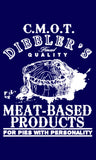 CMOT Dibbler's Meat Based Products (White) T-Shirts