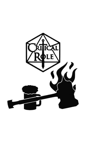 A Critical Role (Black) T-Shirts