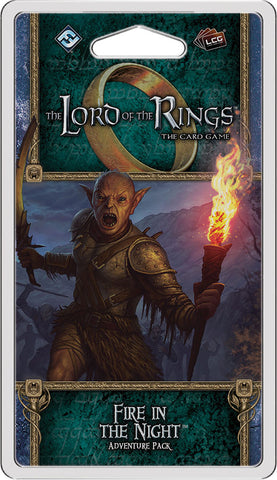 The Lord of the Rings LCG: Fire in the Night Adventure Pack