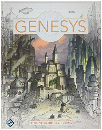 Genesys RPG Core Rulebook Hardcover