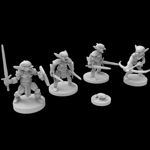 Dolomar's Dungeon Denizens Goblin Sprawl Dungeons and Dragons, Miniatures, Role-playing Games