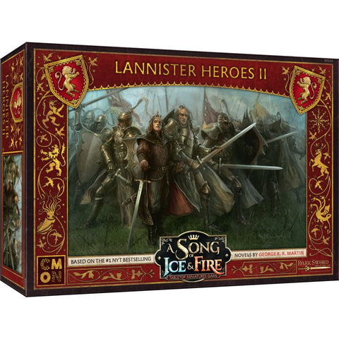A Song of Ice and Fire: Lannister Heroes Box 2