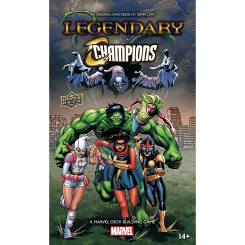Marvel Deck Building Game: Legendary Champions Expansion
