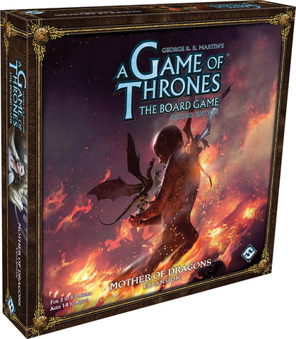 A Game of Thrones Board Game: 2nd Ed - Mother of Dragons Expansion