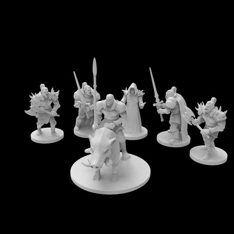 Dolomar's Dungeon Denizens Orc Raiding Party