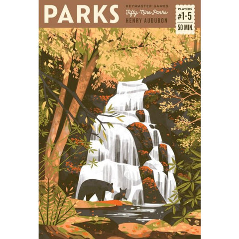 PARKS USA's National Parks Board Games Game South Africa Geek