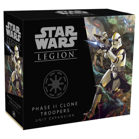 Star Wars Legion: Phase II Clone Troopers Unit Expansion Miniature Game Geek South Africa