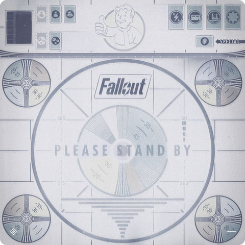 Fallout: The Board Game - Please Stand By Game Mat