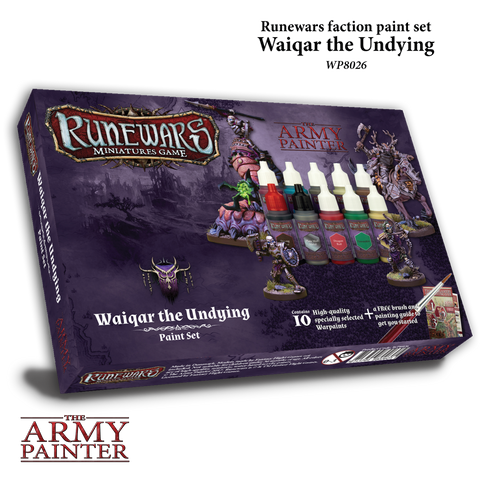 Runewars: Waiqar The Undying Paint Set