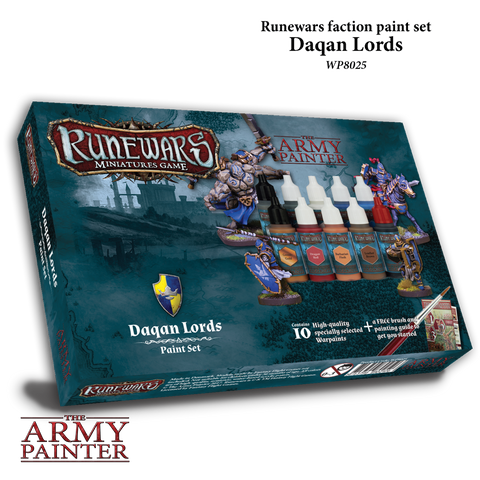 Runewars: Daqan Lords Paint Set