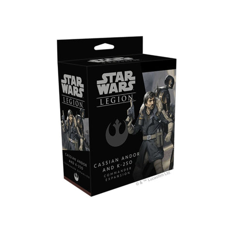 Star Wars Legion: Cassian Andor and K-2SO Expansion