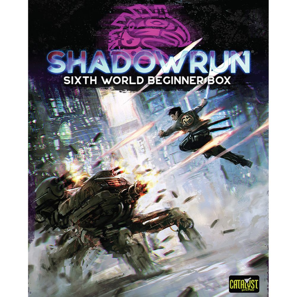 Shadowrun Sixth Edition Beginner Box