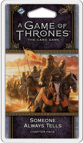 A Game of Thrones Card Game: Someone Always Tells