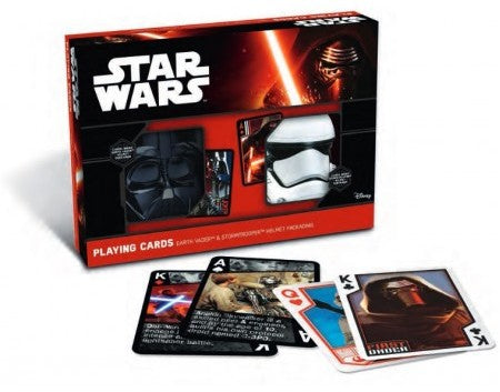 Star Wars Helmet Gift Set Playing Cards