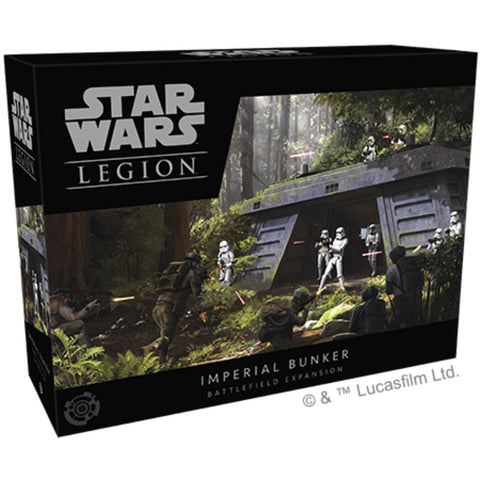Star Wars Legion: Imperial Bunker Battlefield Expansion Miniature Game The Empire