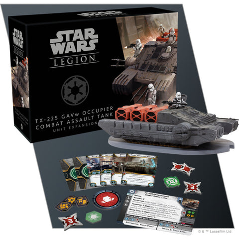 Star Wars Legion: TX-225 GAVw Occupier Combat