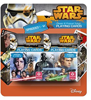 Star Wars Trilogy Double Blister Playing Cards