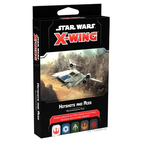 Star Wars X-Wing: Hotshots and Aces Reinforcements Pack Miniature Games