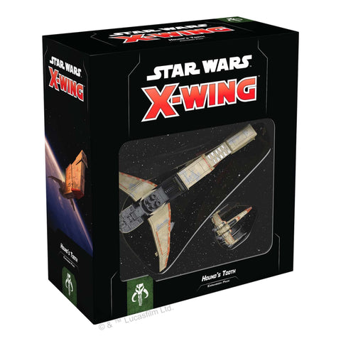 Star Wars X-Wing: Hound's Tooth Expansion Pack Miniature Game Bossk  YV-666 t Z-95-AF4 Headhunter