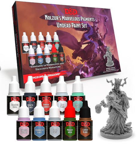 Nolzur's Marvellous Pigments - Undead Paint Set
