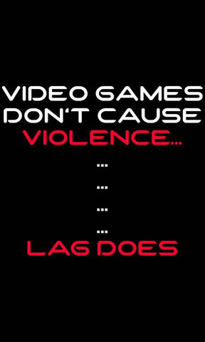 Video Game Violence T-Shirts