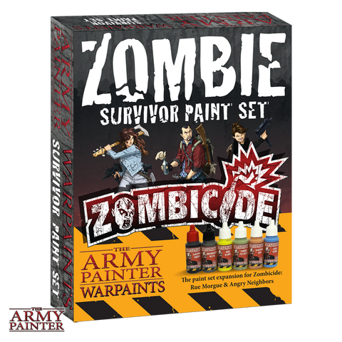 Warpaints Zombicide Zombie Survivor Paint Set