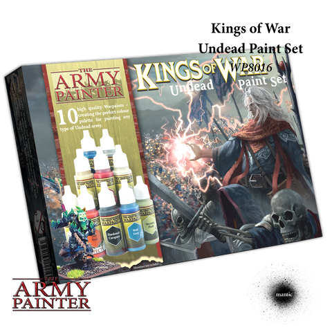 Kings Of War Undead Paint Set