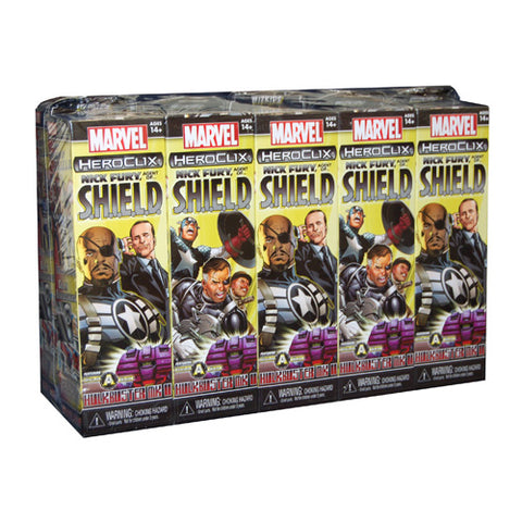 Heroclix Marvel Nick Fury Agents of Shield Booster Brick Miniature Game Geek South Africa