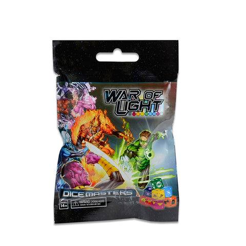 DC Dice Masters War of Light Boosters