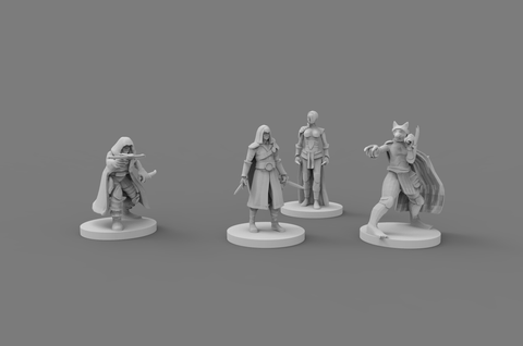 Dolomar's Dungeon Denizens Your Assassins Dungeons and Dragons, Miniatures, Role-playing Games