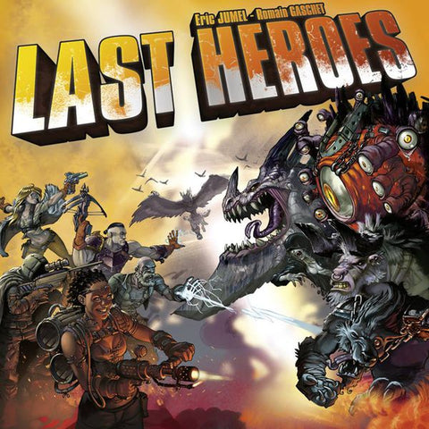 Last Heroes Board Game Geek South Africa