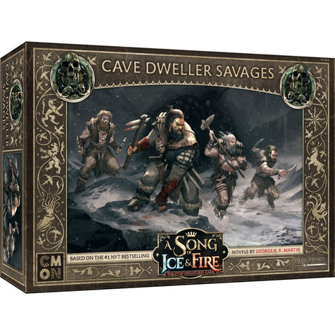 A Song of Ice and Fire: Free Folk Cave Dweller Savages