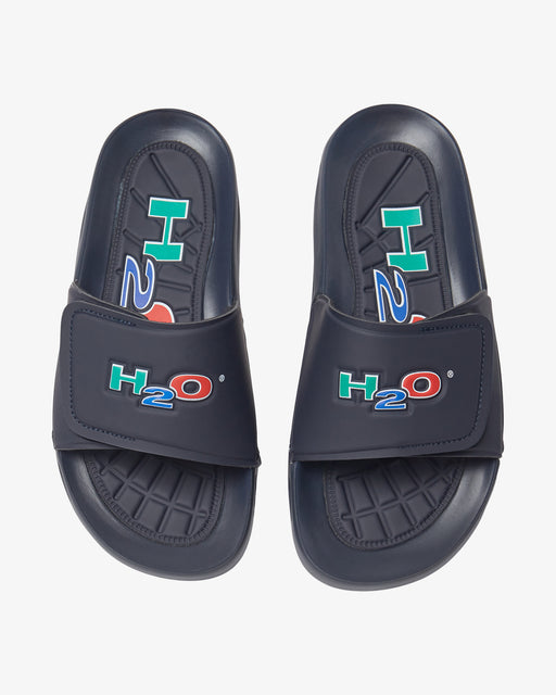 H2O Shoes Adjustable Bathshoe Sandal 2500 Navy
